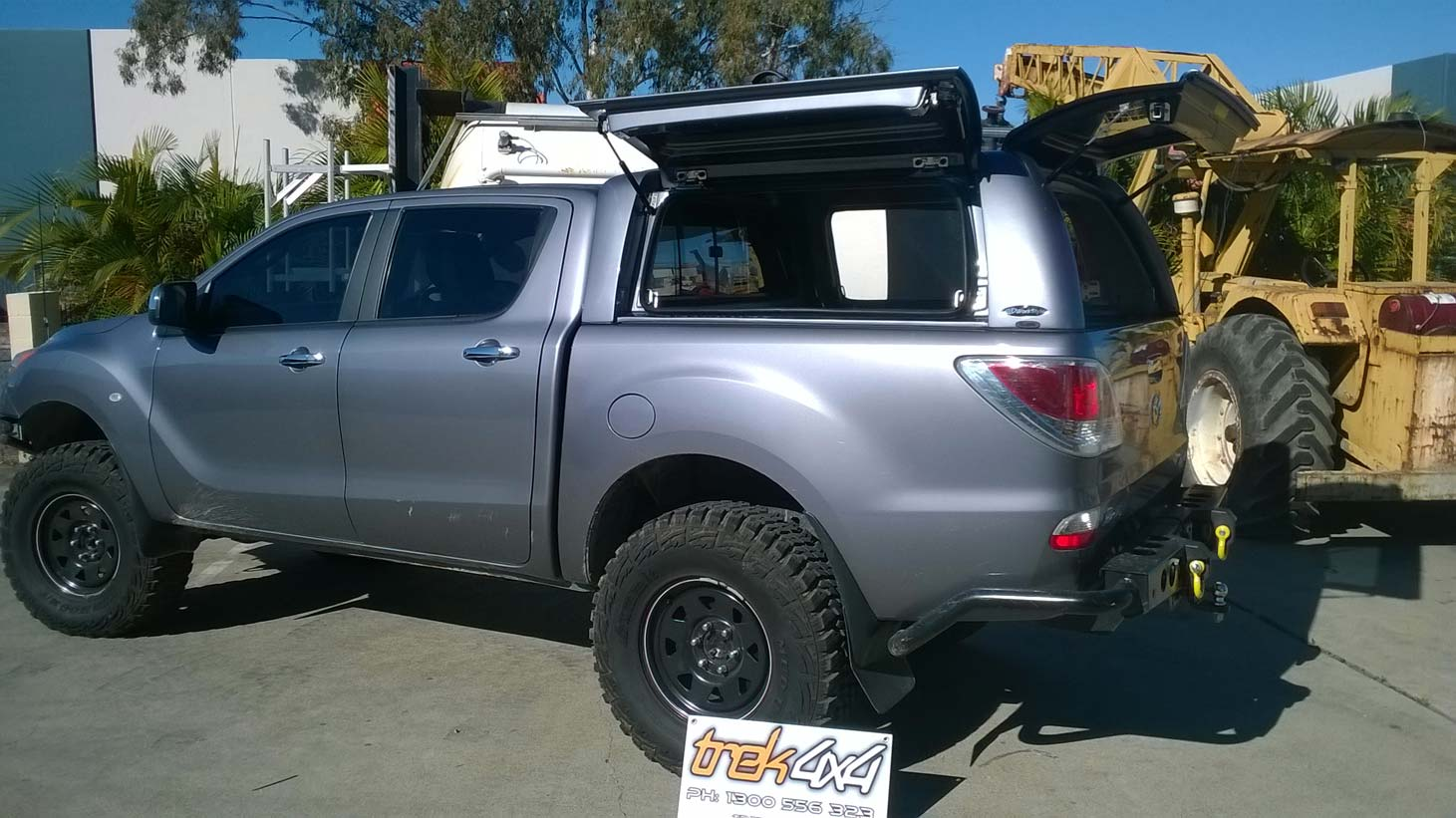 Mazda Bt 50 2012 Workstyle Canopy