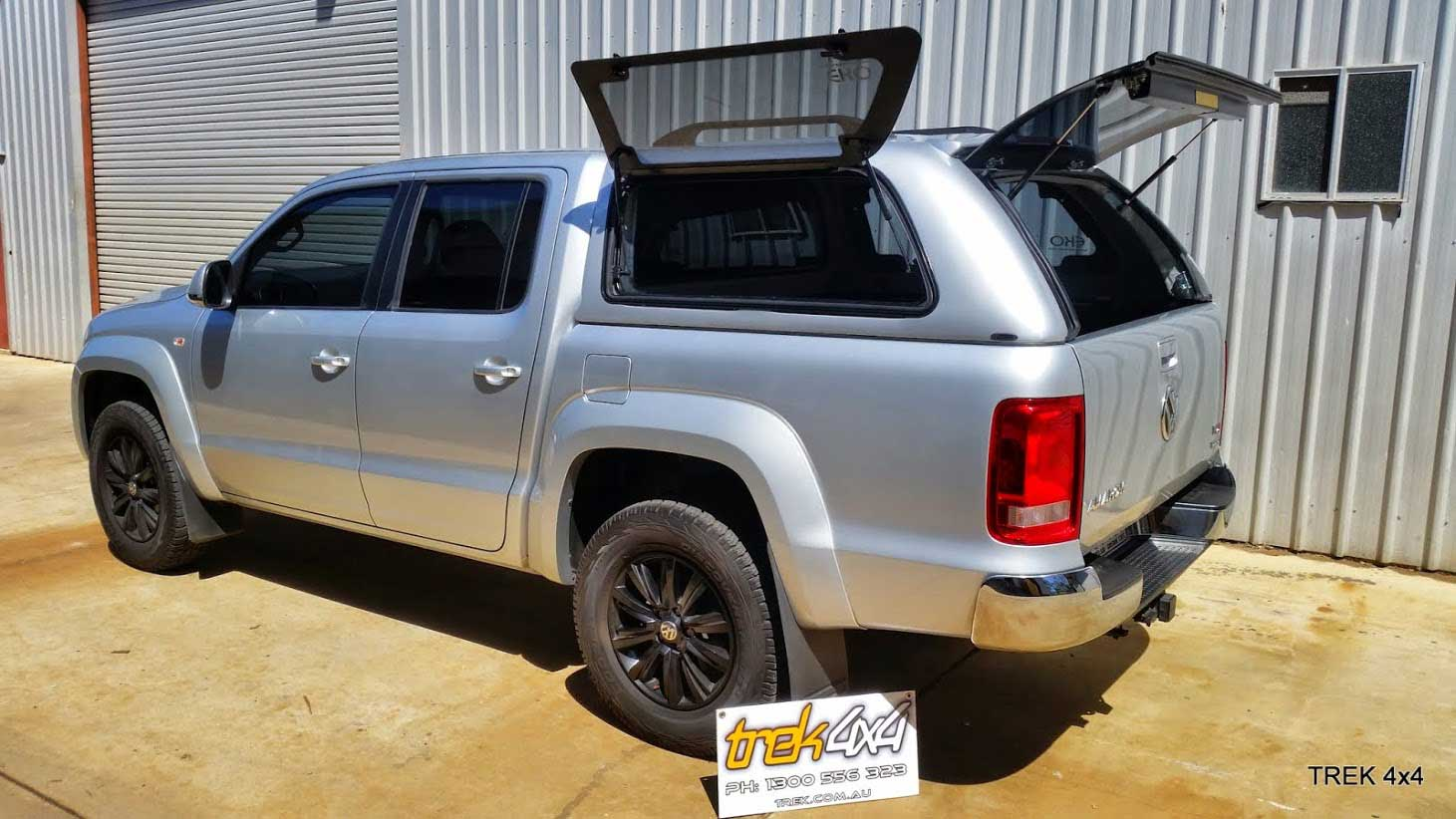 Volkswagen Amarok 2011 Dual Cab Canopy Canopies For