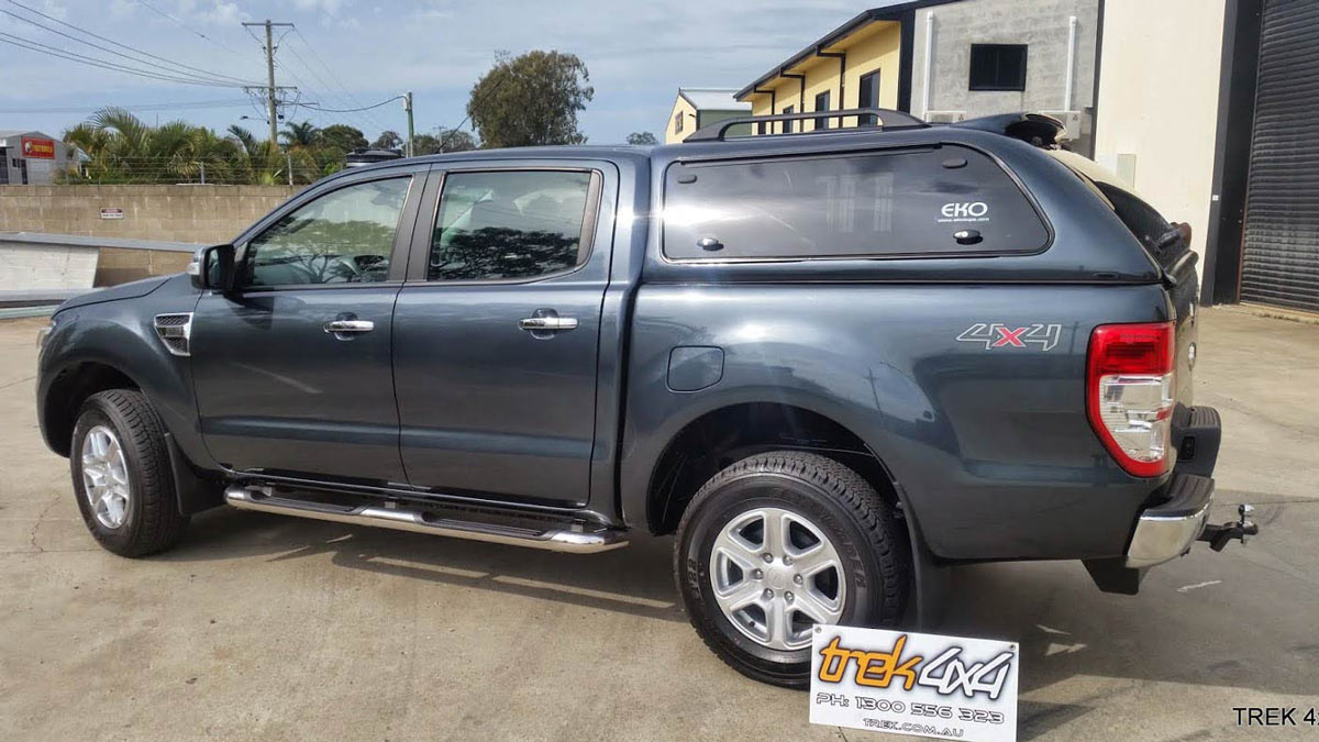 EKO Canopy on FORD RANGER PX IN 36C METRO-GREY