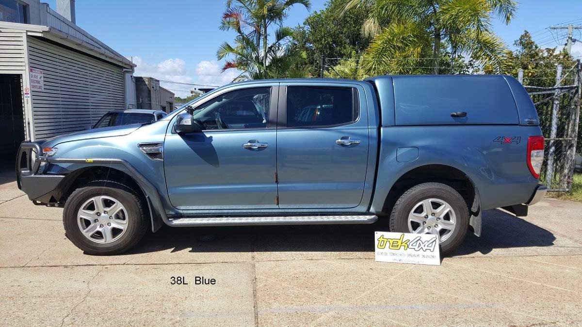 Ford px ranger workstyle in 38L blue canopy