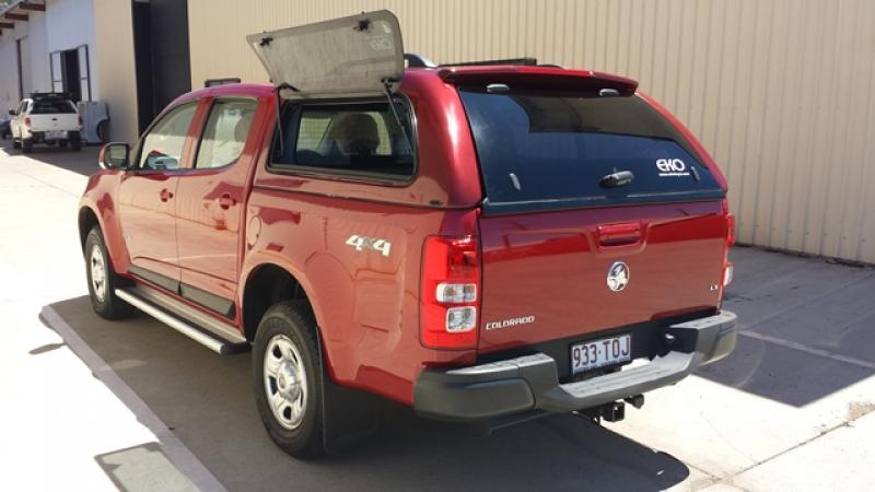 Holden Colorado Rg Dual Cab Canopy Canopies For Your Ute