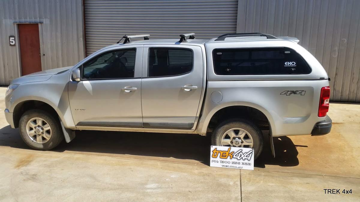 Holden Colorado RG with EKO Cnaopy from Trek4x4