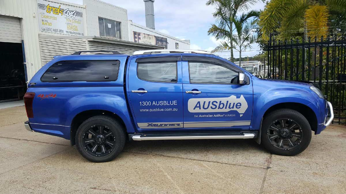 Isuzu Dmax with EKO Canopy - Blue