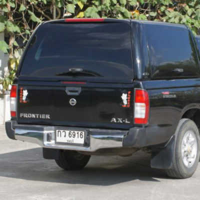 NISSAN NAVARA D22 LONG BED WORKSTYLE CANOPY 2010+ Thai Built & Nissan Navara D22 Long Bed Dual Cab Canopy