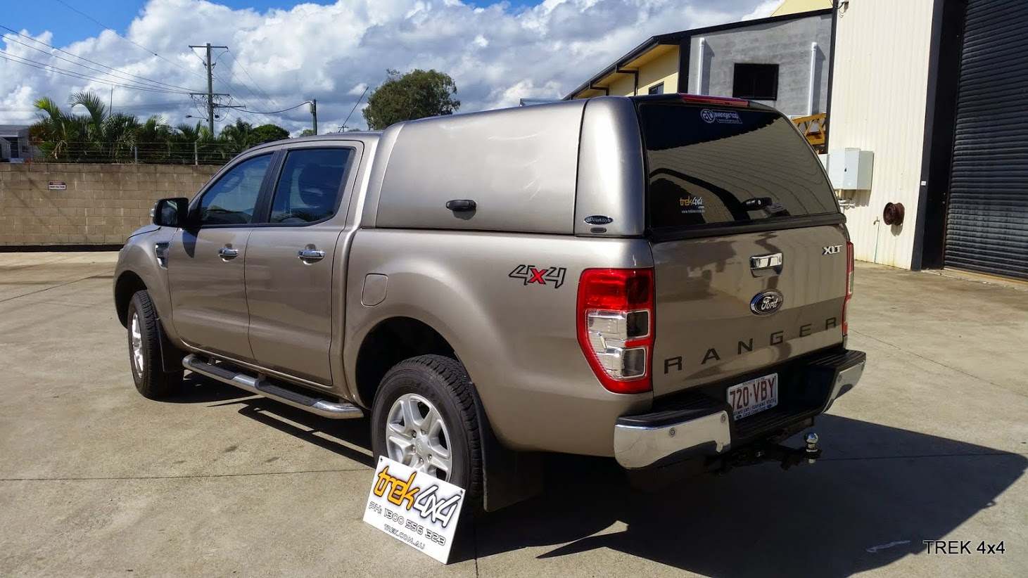 Ford Ranger Px Workstyle Canopy