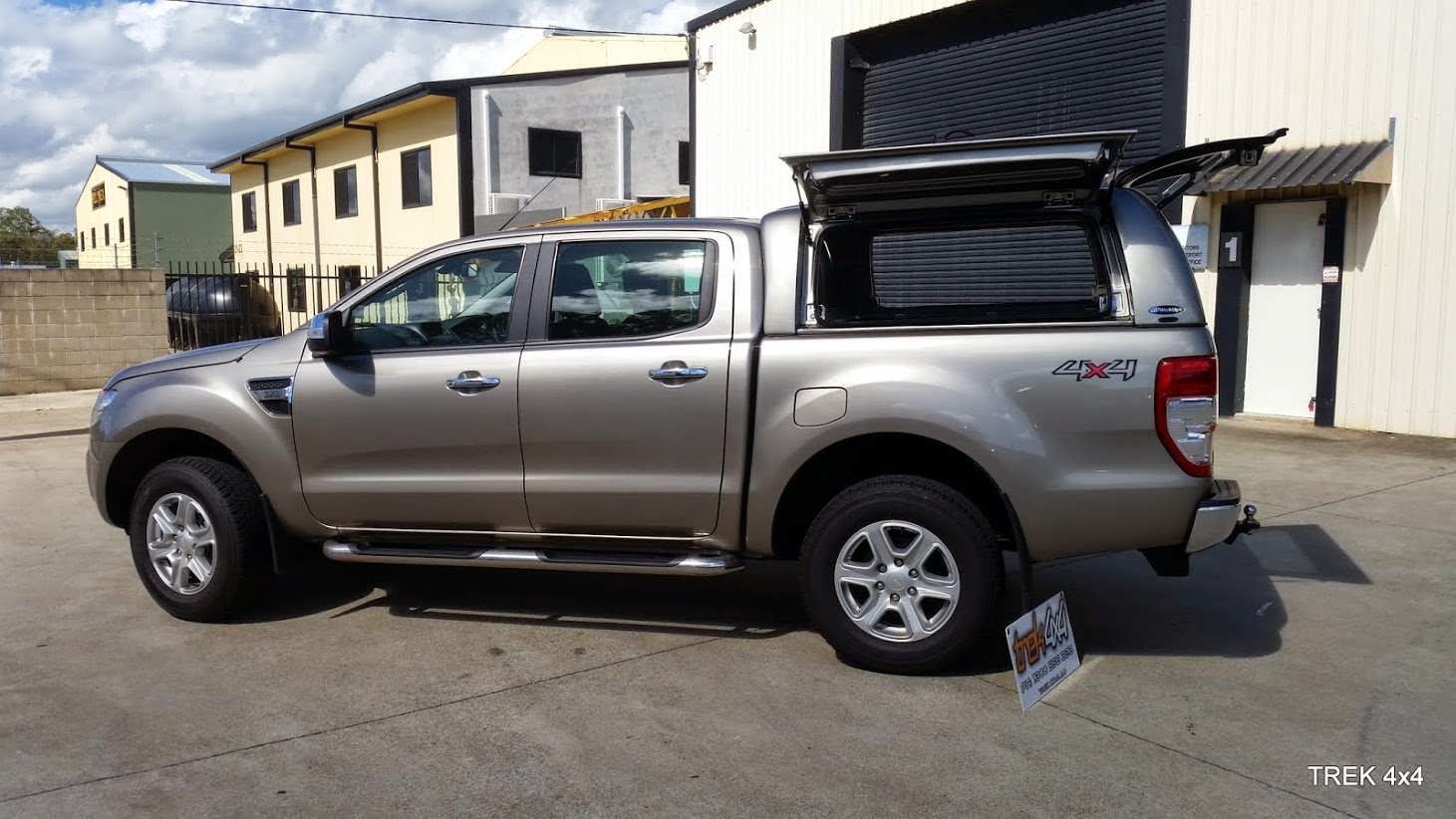 ShopWorkstyle CanopyFORD ... & FORD RANGER PX WORKSTYLE CANOPY
