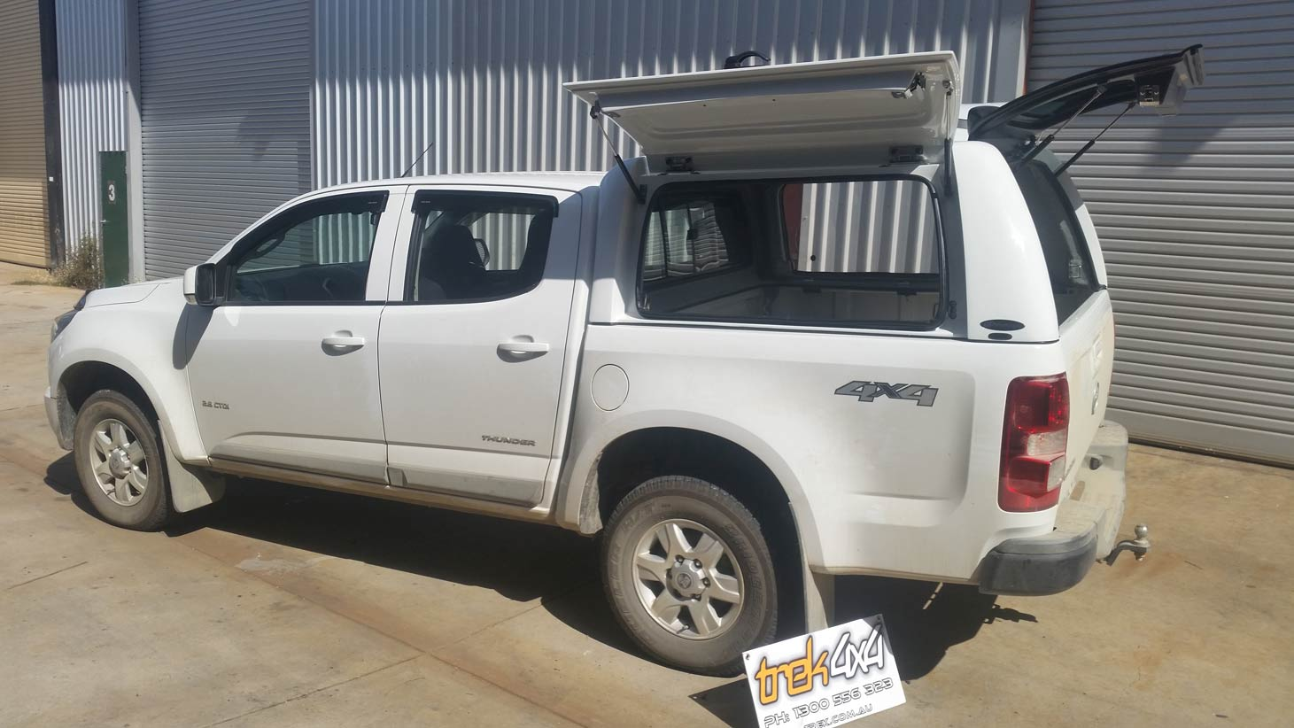 Holden Colorado Rg 2012 Workstyle Canopy Canopies For