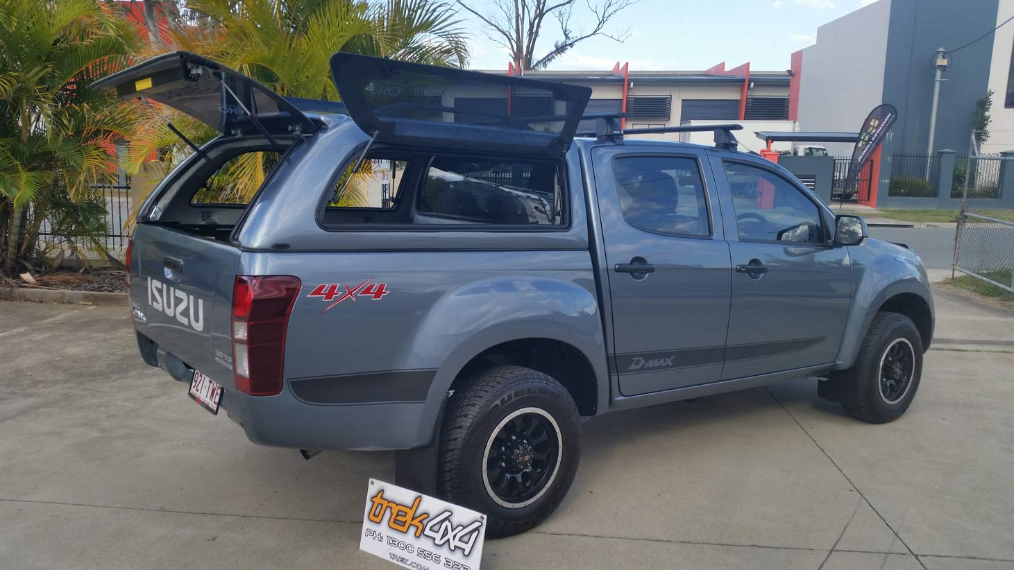 Isuzu D Max 2008 2011 Dual Cab Canopy Canopies For