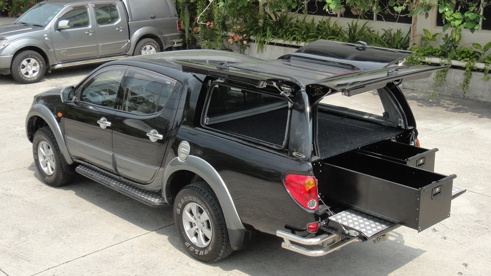 window-measurement-workstyle-double-ccab-low-roof-mn- & MITSUBISHI TRITON MN WORKSTYLE CANOPY