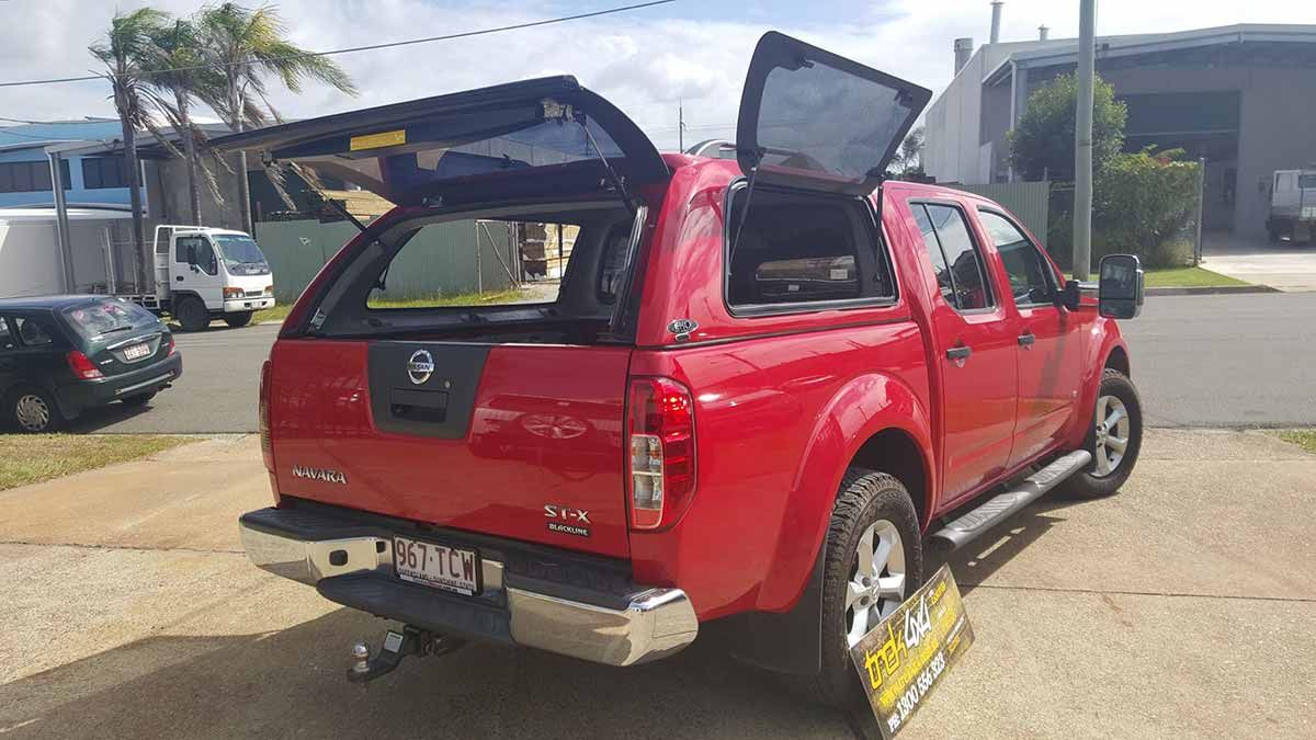 nissan navara d40 stx rx dual cab canopy. Black Bedroom Furniture Sets. Home Design Ideas