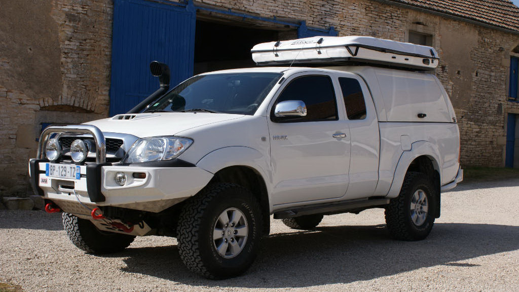 Toyota Hilux 2005 Workstyle Canopy