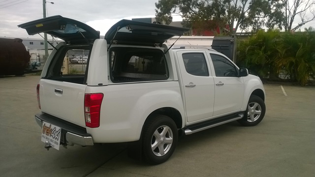 measurements-workstyle-canopy-double-cab-isuzu-d-max- & Isuzu D-Max 2012 + Workstyle Canopy