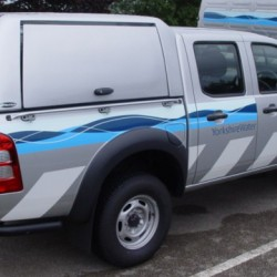 Ford Ranger Pj Pk Workstyle Canopy 2008 2011