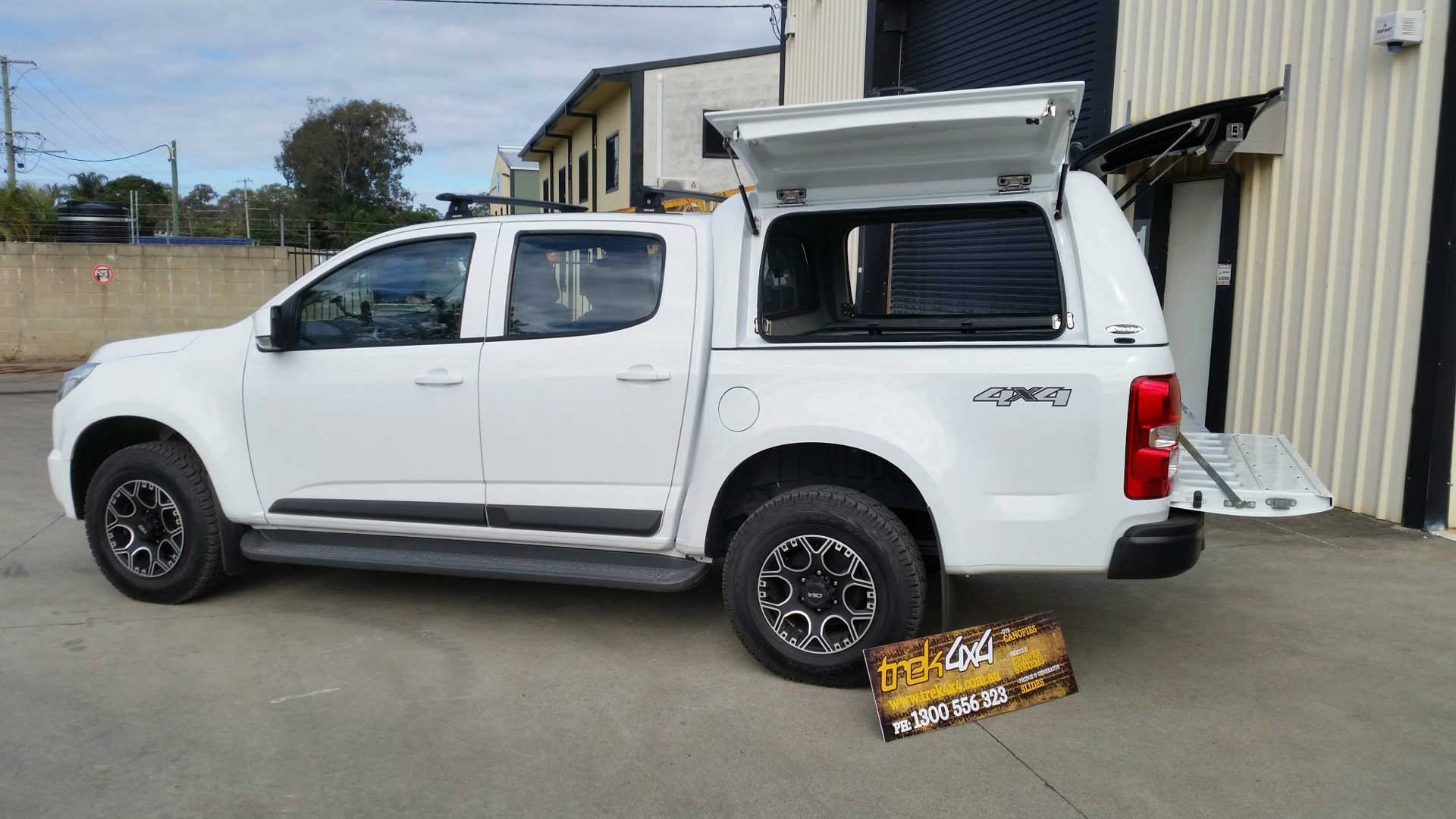 Holden Colorado RG 2012 Workstyle canopy & Holden Colorado RG 2012 + Workstyle Canopy