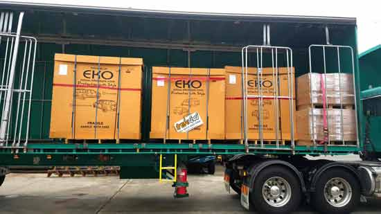 eko canopies delivered