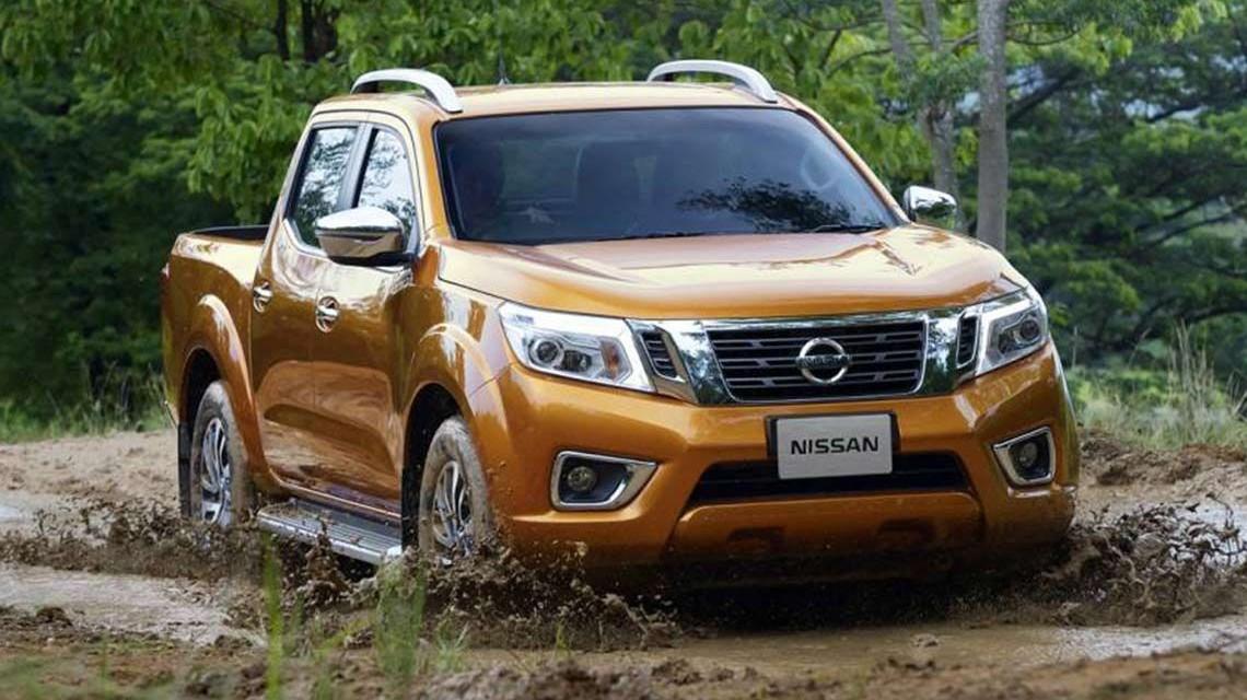 Nissan Navara 2015 NP300 Frontier test drive