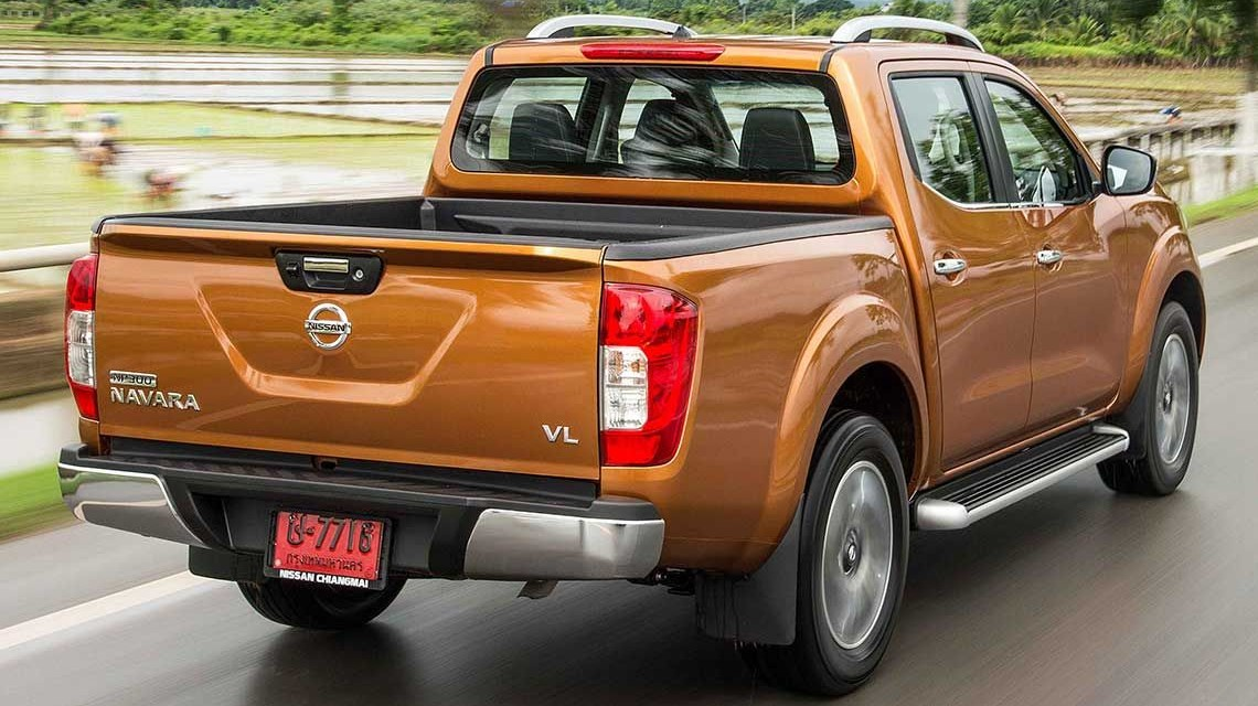 Nissan Navara 2015 NP300 Frontier without canopy