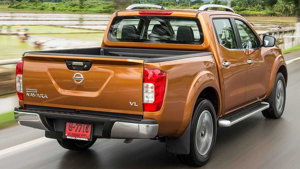 Nissan Navara 2015 NP300 Frontier without canopy & Nissan Navara 2015