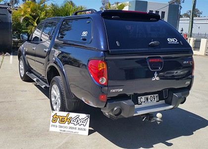 eko top on mitsubishi  triton ute