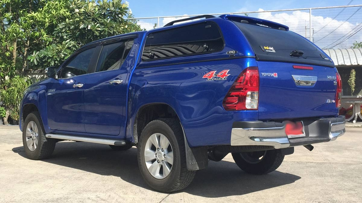 hilux-2016-from-the-side & Toyota Hilux Canopies - Canopies for your ute or 4x4 Vehicle