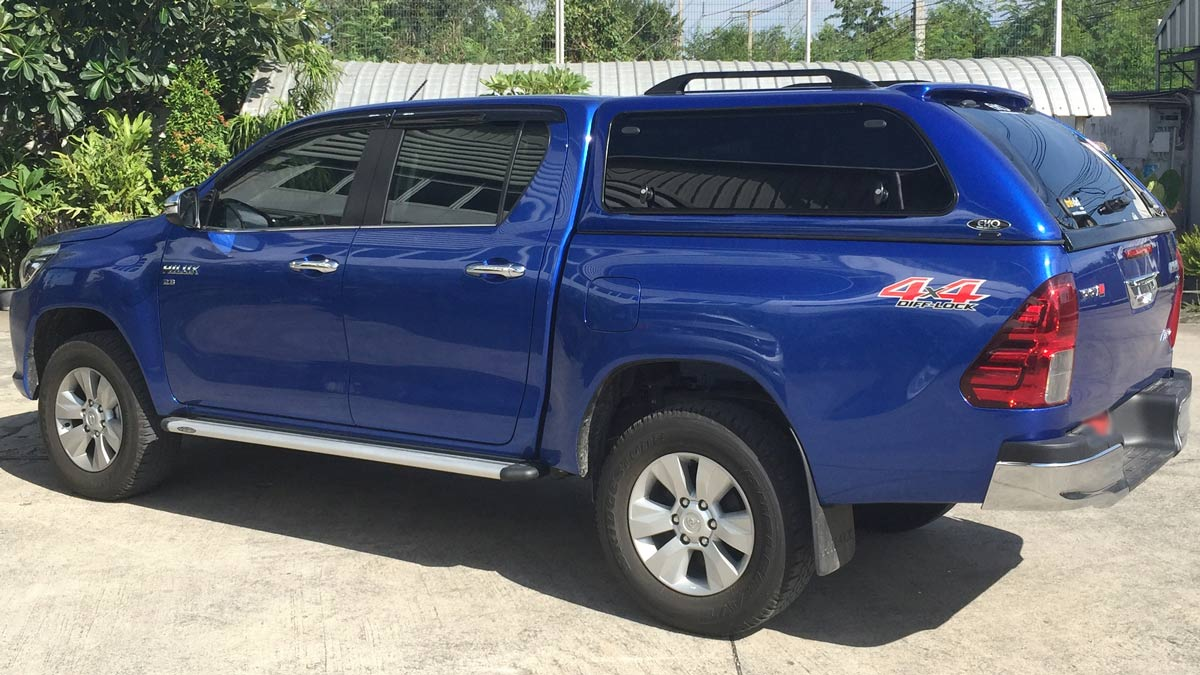 hilux-canopy-view & Toyota Hilux Canopies - Canopies for your ute or 4x4 Vehicle