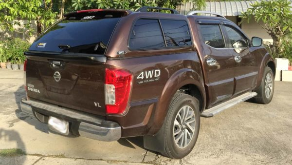 Nissan Navara NP300 2015+ EKO Canopy view from back