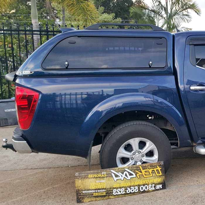 nissan-navara-with-blue-canopy-2015-model-with- & Nissan Navara NP300 2015+ Dual Cab Canopy
