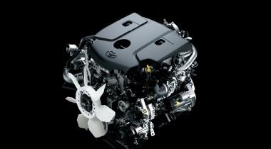 Toyota hilux MK9 2016 engine