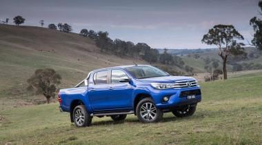 Toyota hilux MK9 2016 in nature