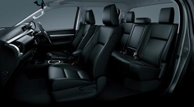 Toyota hilux MK9 2016 interior