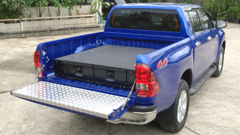 Twin Drawers for hilux MK9 2016