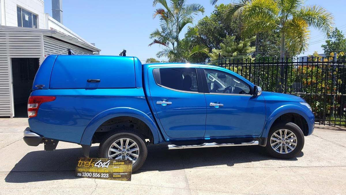 Mitsubishi Triton MQ with WORKSTYLE Canopy - Trek 4x4