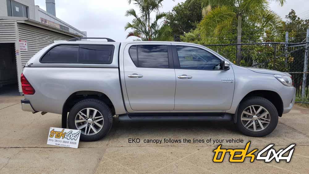 ShopEKO ... & Toyota Hilux 2016 EKO Canopy