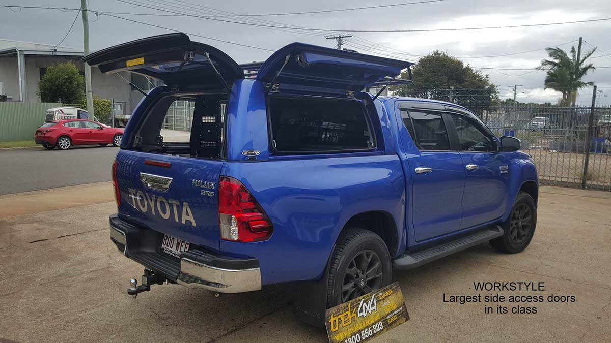 hilux 2016 with workstyle canopy