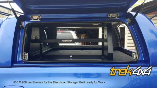 hilux 2016 with shelf and drawers in Nebular Blue