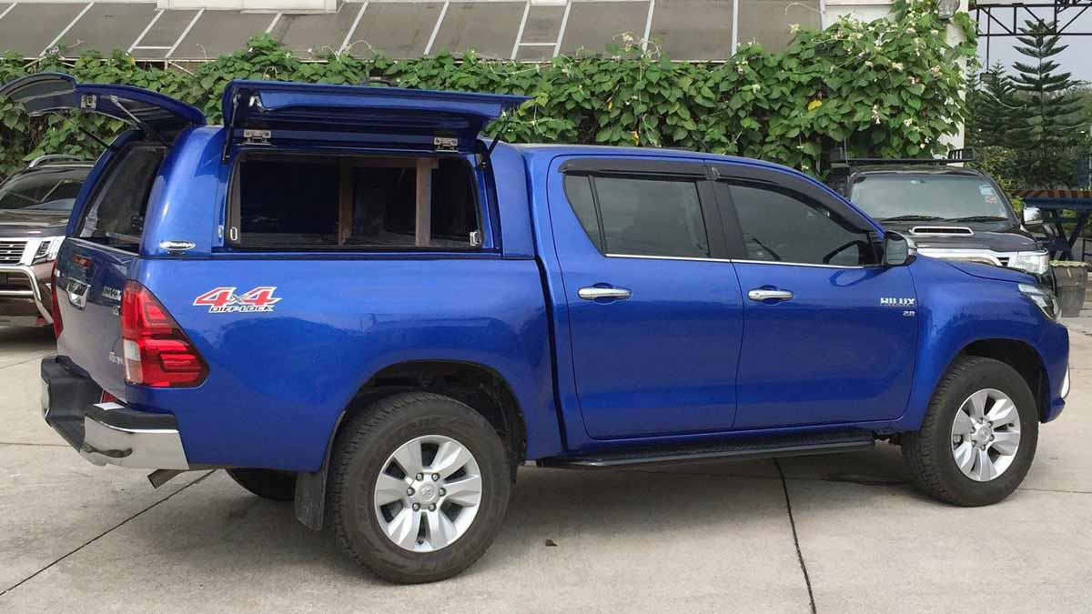 Toyota Hilux 2016 Workstyle Canopy