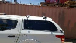 Trek4x4 Canopy Roof rack on Triton MQ in W32 White with EKO Canopy