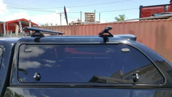 Trek4x4 Canopy Roof rack on Triton MQ in X08 Black