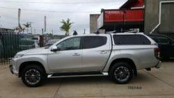 Mitsubishi Triton 2019+ MR with EKO canopy in U25 Sterling Silver
