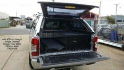 Mitsubishi Triton 2019+ MR with EKO canopy in U25 Sterling Silver.3