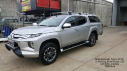 Mitsubishi Triton 2019+ MR with EKO canopy in U25 Sterling Silver.4