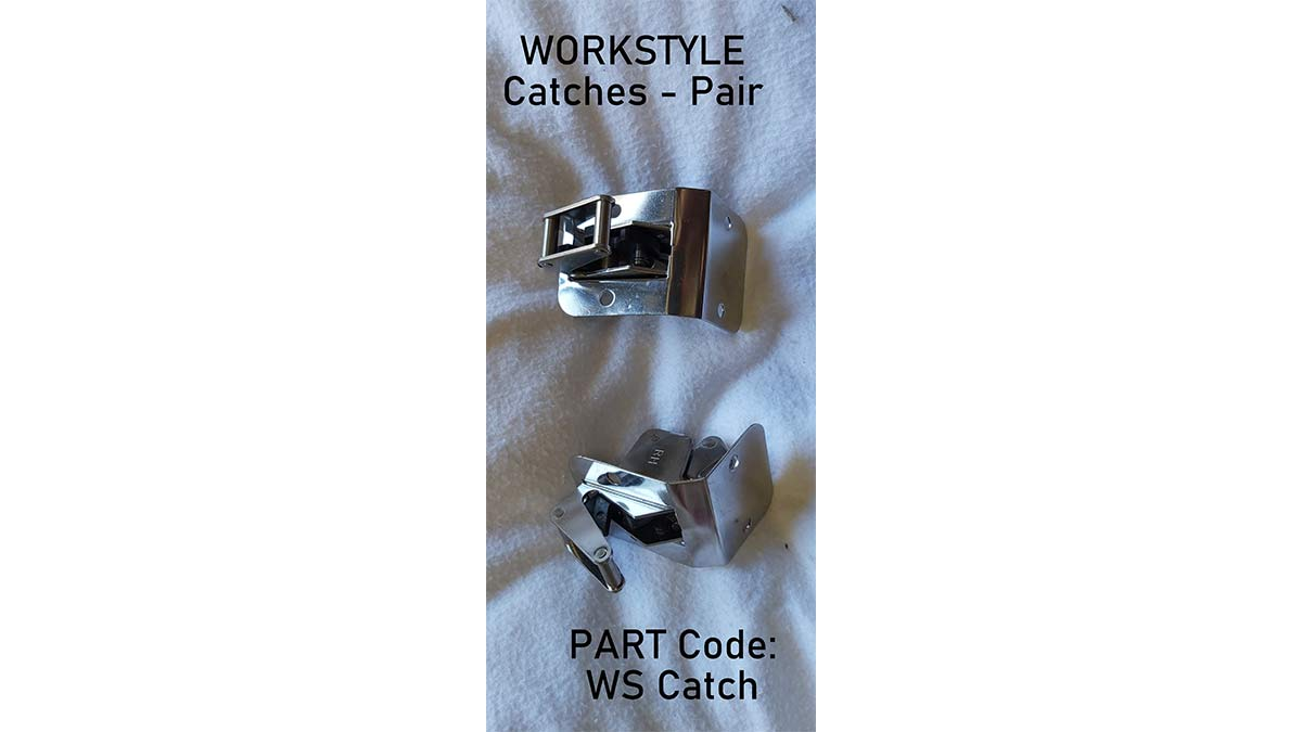 Catches Pair for WORKSTYLE Canopies