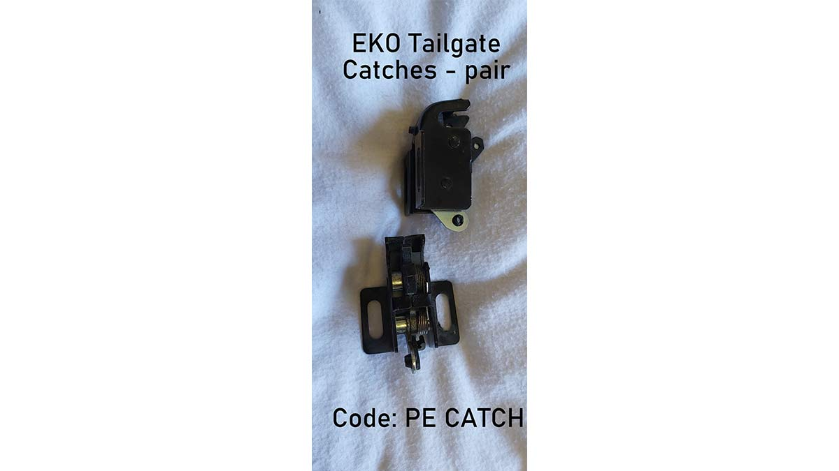 Tailgate Catches for EKO Canopies - pair