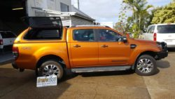 Ford Ranger PX Pride Orange Trek Canopy
