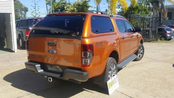 Ford Ranger PX Wildtrack in Pride Orange WV3 withTrekCanopy