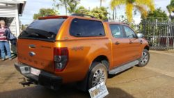 Ford Ranger PX Wildtrack withTrek 4x4 Canopy