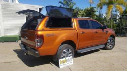 Ford Ranger PX withTrekCanopy