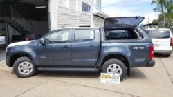Holden Colorado with TREK Canopy Dark Gery Colour