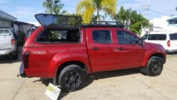 ISUZU D Max withTREK canopy- Magnetic Red