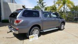 Mazda BT50 2012+ with TREK4x4 Canopy in 30B Titanium Grey - Brisbane